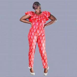 Camellia Jump Suit